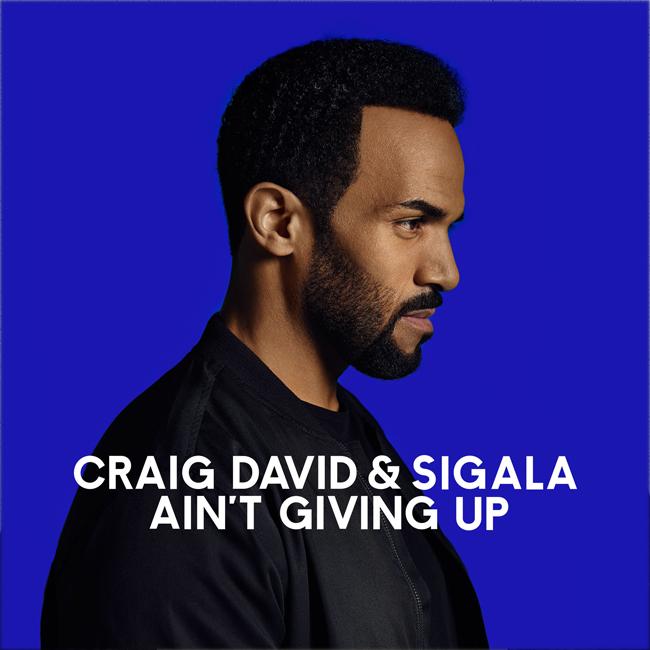 دانلود آهنگ جديد Craig David & Sigala  به نام Ain't Giving Up