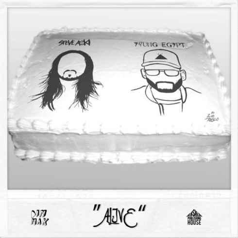 دانلود آهنگ جدید Young Egypt & Steve Aoki به نام Alive